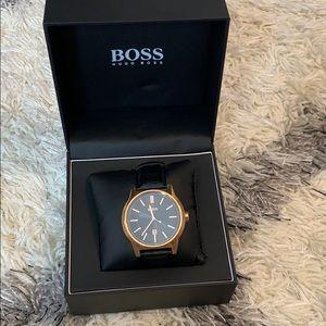 Hugo Boss Leather watch